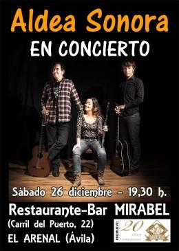 CARTEL CONCIERTO EL ARENAL DIC2015